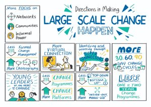 Making Large Scale Change Happen