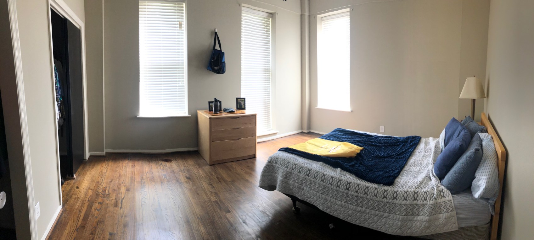 Student Apartment - Bedroom