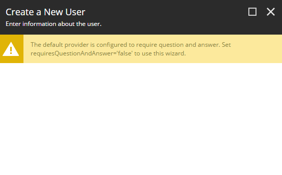 3) requiresQuestionAndAnswer