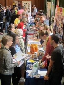 JugendBildungsMesse Ausstellung