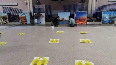 صورة استعدادات وقائية مشددة على قدم وساق بمطار محمد الخامس بالبيضاء