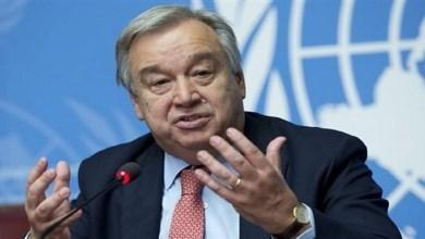 """صورة الأمين العام للأمم المتحدة """"قلق للغاية"""" بشأن الوضع الذي تسببت فيه """"البوليساريو"""" في الكركرات"""