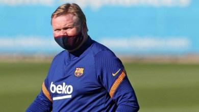 صورة الحصة التدريبية الأخيرة لبرشلونة تبشر كومان بخبر سار