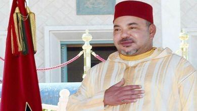 صورة الملك يُعزّي أفراد أسرة الناشط الأمازيغي أحمد الدغرني