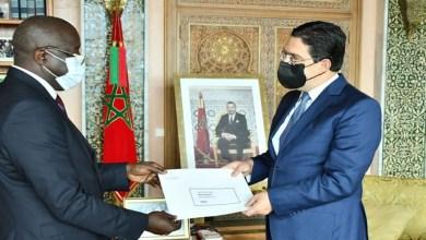 صورة وزير الشؤون الخارجية يستقبل السفير الجديد لغينيا بيساو بالمغرب