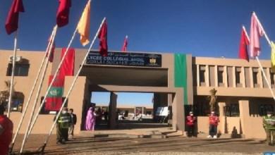 صورة أمزازي يدشن مؤسسات تعليمية بإقليم شيشاوة