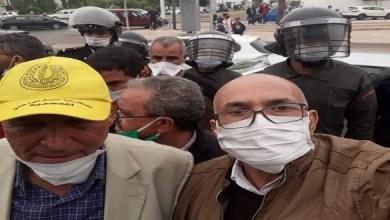 """صورة نقابة تعليمية تدين """"قمع"""" أطر الإدارة التربوية خلال احتجاجهم بالرباط"""