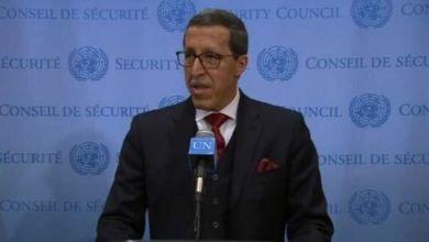 صورة السفير هلال يطلع غوتيريس ومجلس الأمن على انتهاكات حقوق الإنسان في مخيمات تندوف