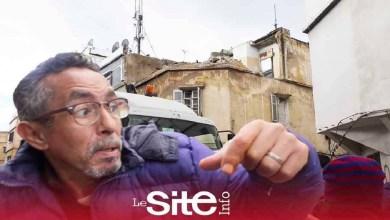 صورة مشهد مرعب.. انهيار جزء من منزل على المباشر بدرب السلطان بالبيضاء -فيديو
