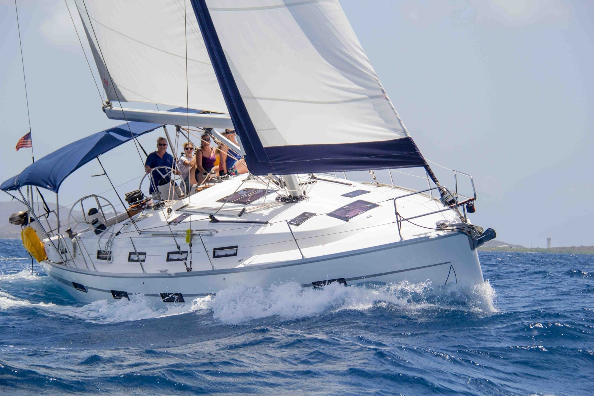 Bavaria 40 For Charter In The BVI With Horizon Yacht Charters
