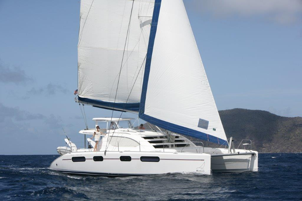 Leopard 46 Catamaran From Horizon Yacht Charters Grenada