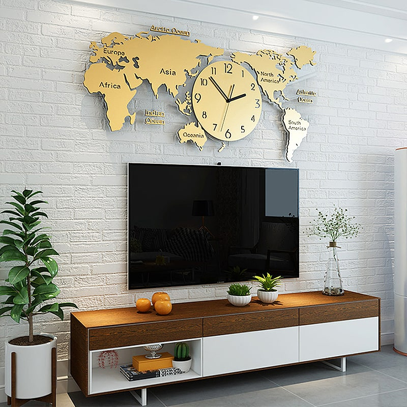 horloge murale geante design et originale horlogerie mercier