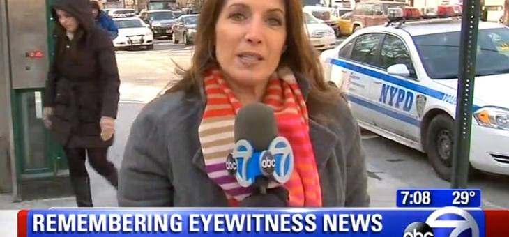 ABC NEWS REPORTER DIES FROM A BRAIN ANEURYSM