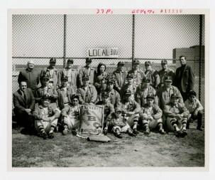 Local 300 baseball team, no date.