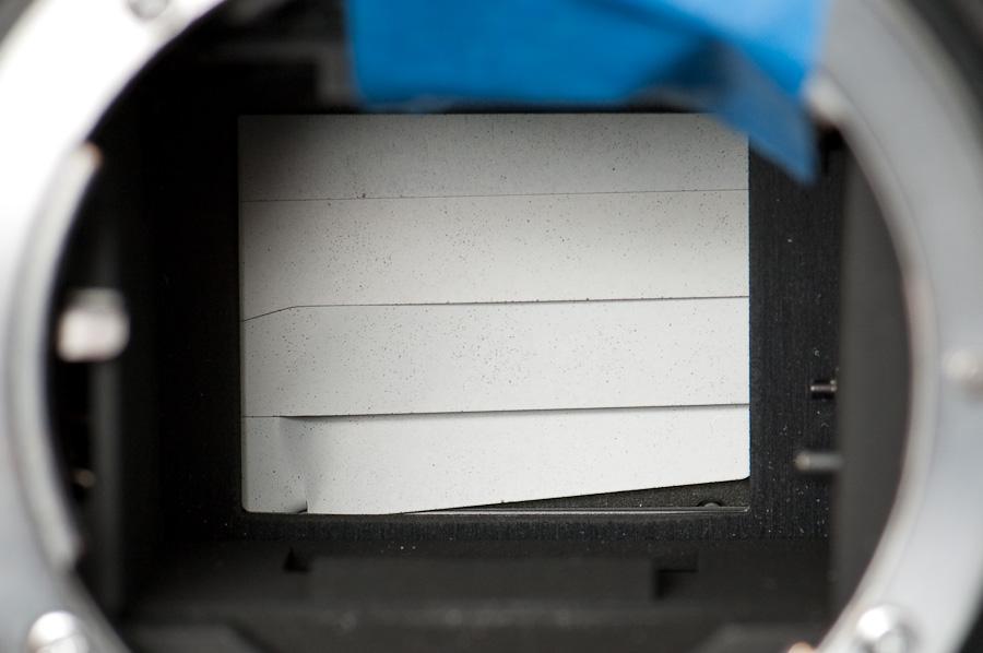 Broken D2H shutter