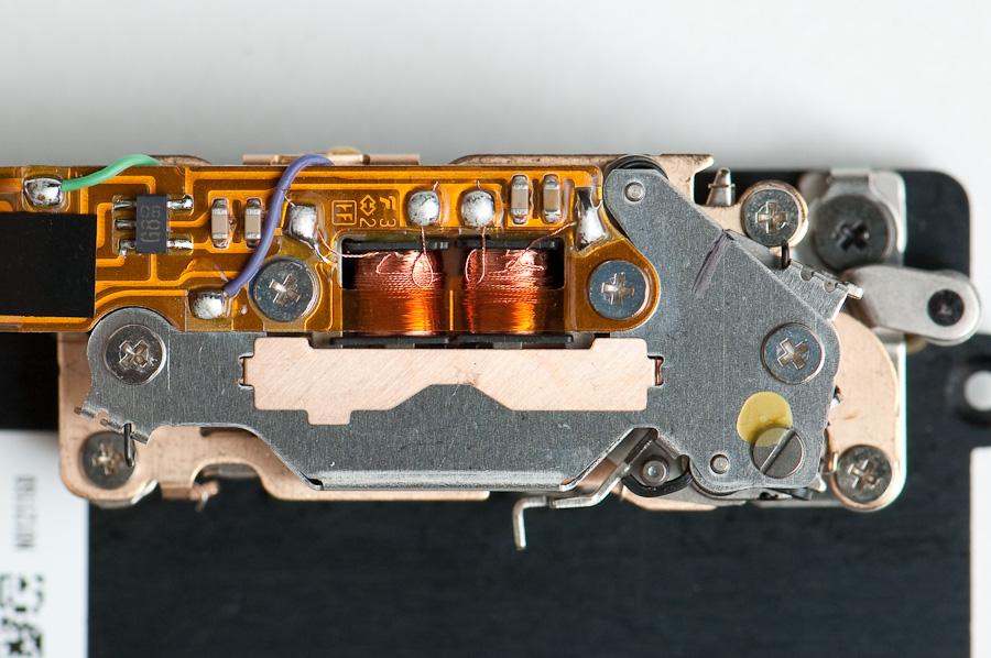 D2H shutter mechanism - face