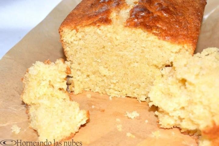 Bizcocho de mantequilla y vainilla