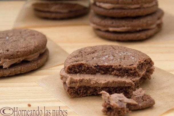 Sandwiches de Galletas de Nutella