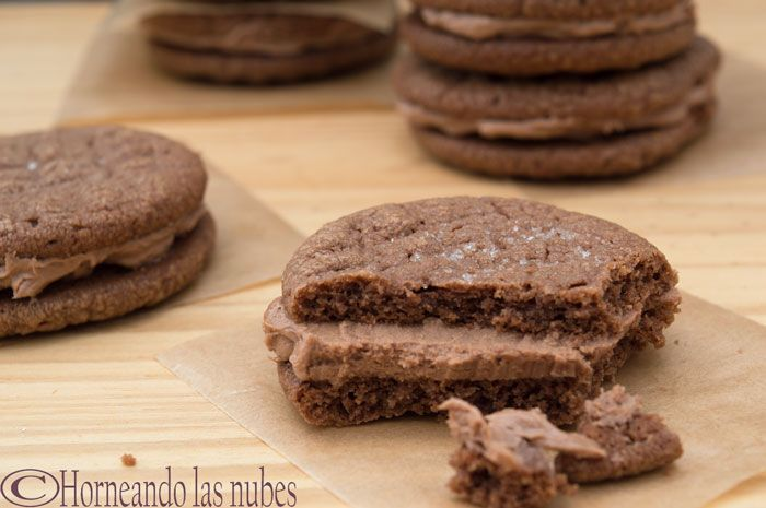 Sandwiches de Galletas de Nutella