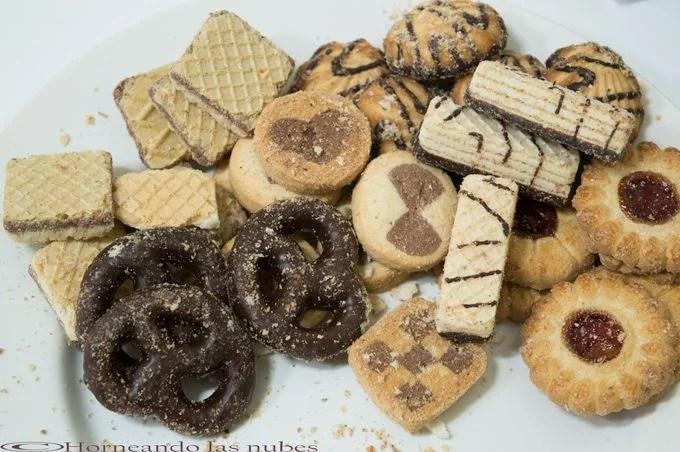 Helado de galletas surtidas