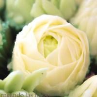 Buttercream o crema de mantequilla para hacer flores
