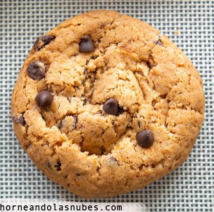 galletas de calabaza con chispas de chocolate
