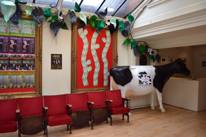 Cow Model at Perth Theatre for Jack and the Beanstalk