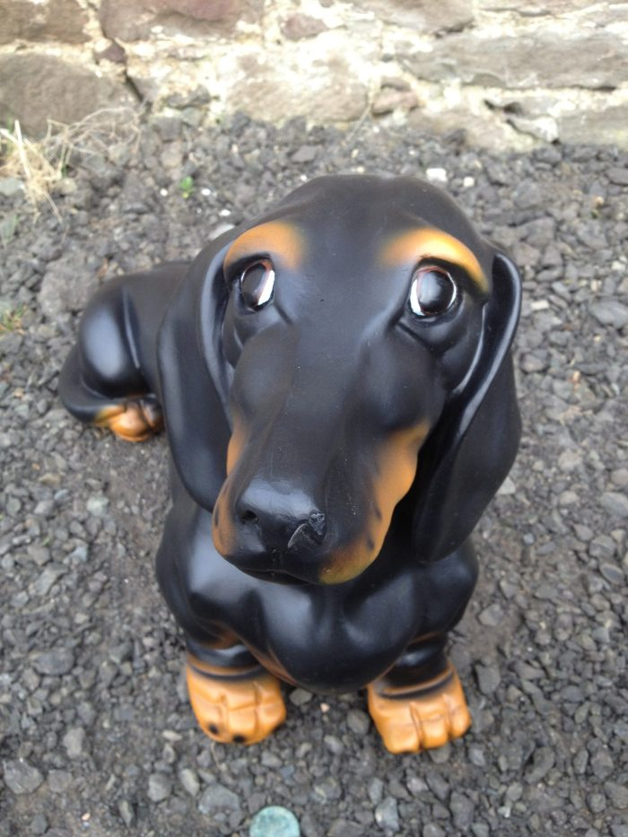 Life Size Dachshund Dog Model