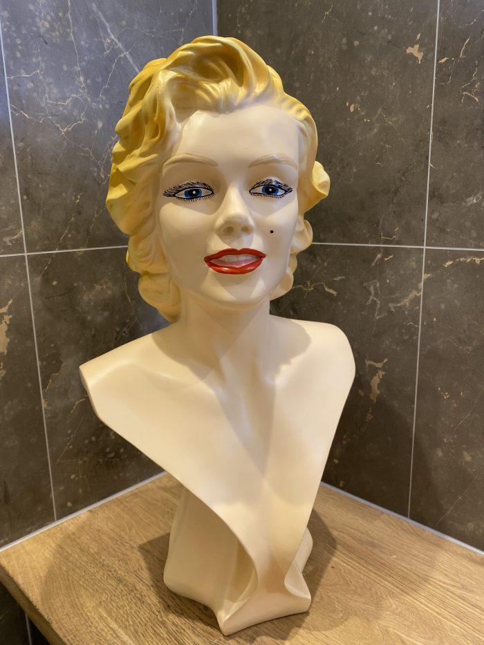 Marilyn Monroe Bust Statue