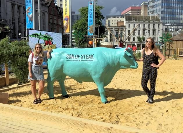 Life Size Model Bull