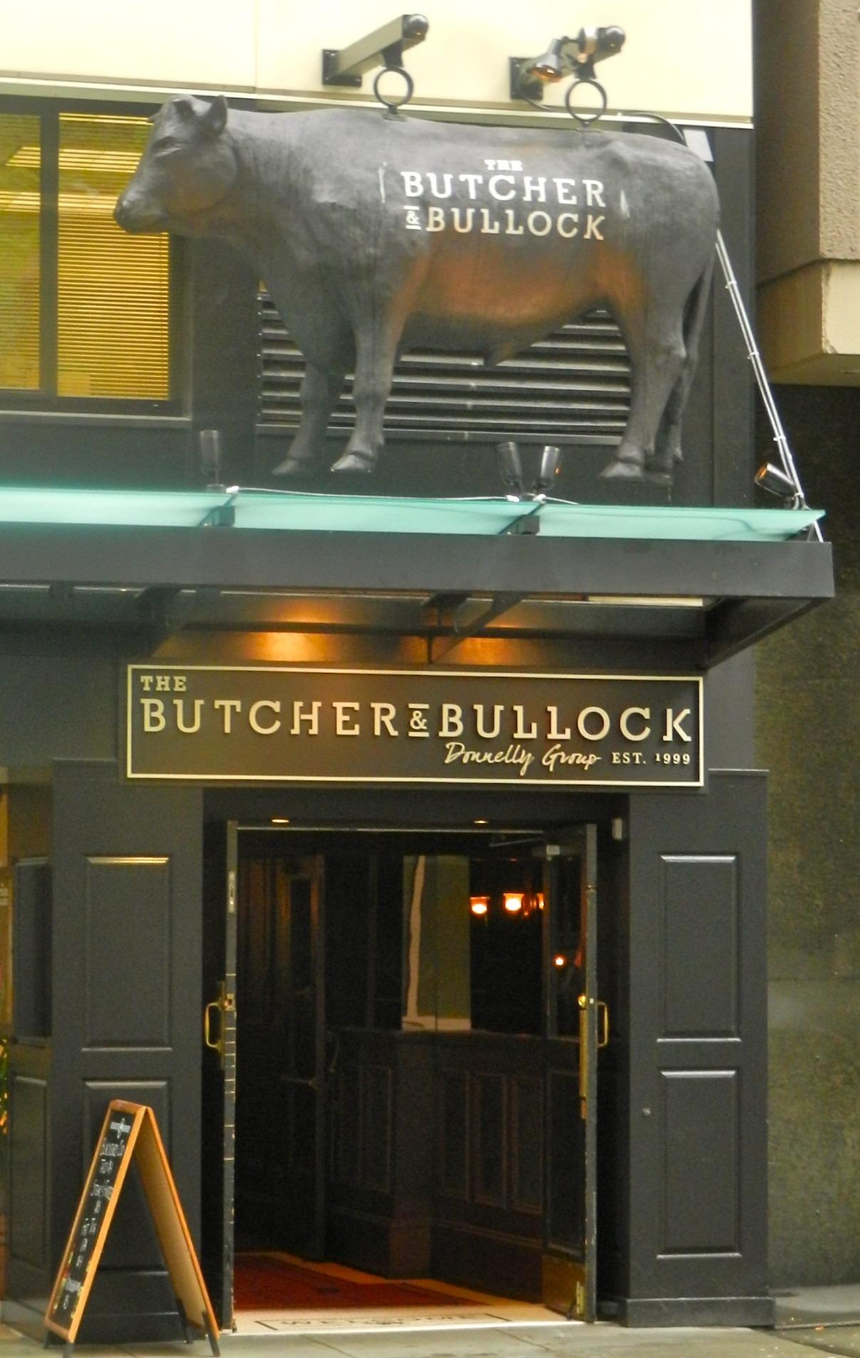 3D Model Bull Restaurant Sign