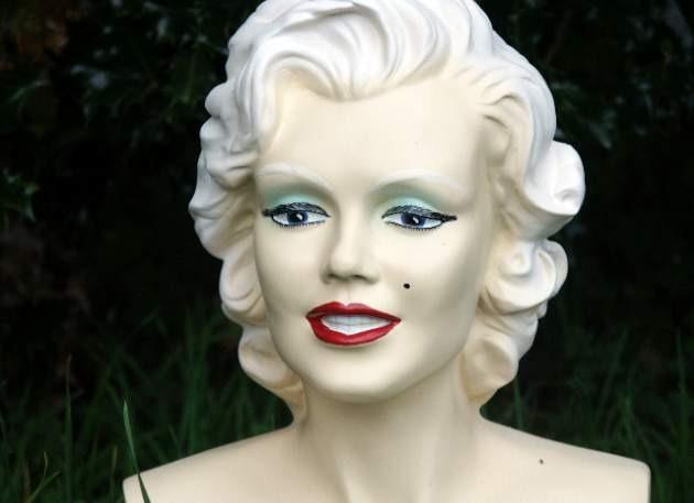 Marilyn Monroe Model Bust