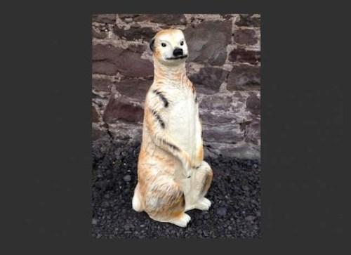 Life Size Model Meerkat