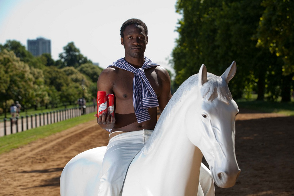 Old Spice Model Horse