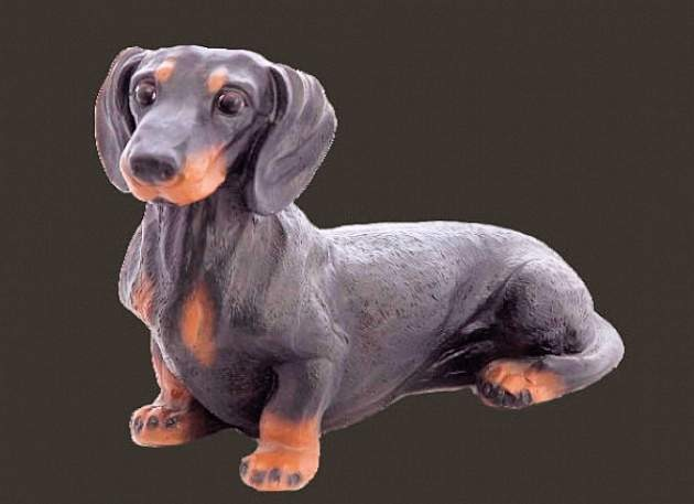 Life Size Model Dachshund Dog
