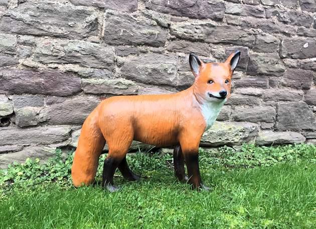 Fibreglass Model Fox Standing