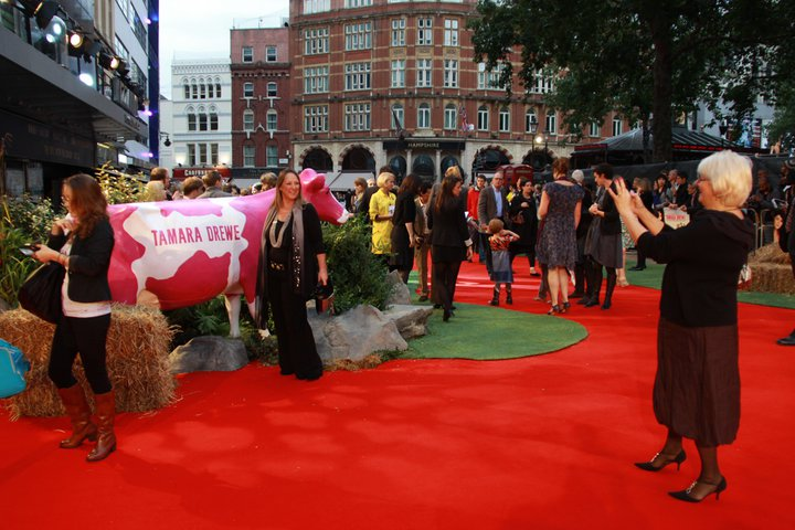 Model Animals on the Red Carpet