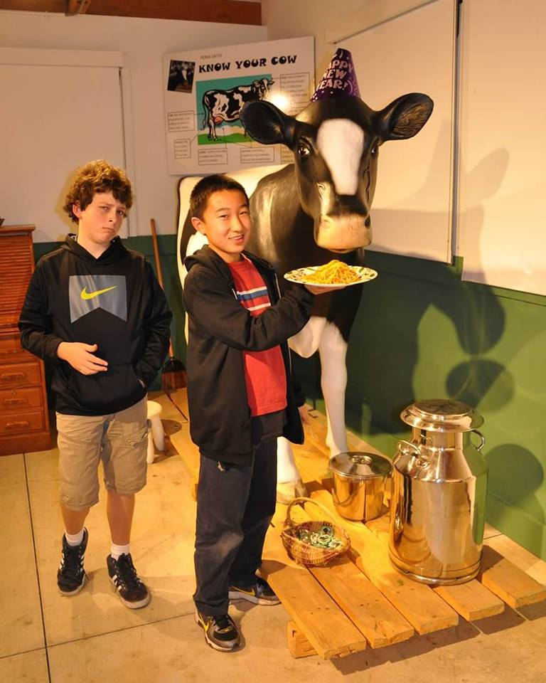 California Milking Cow