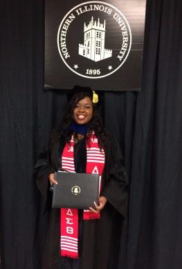 Dionne H. Griffin, Graduate Commencement