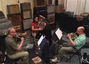 trio-recording-session