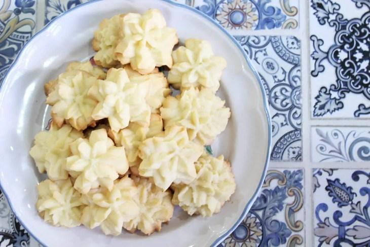 Galletas de mantequilla receta
