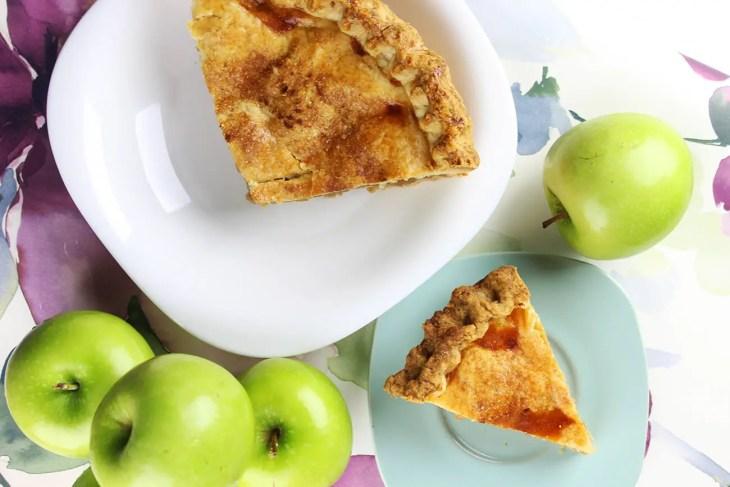 Pay de manzana clásico receta