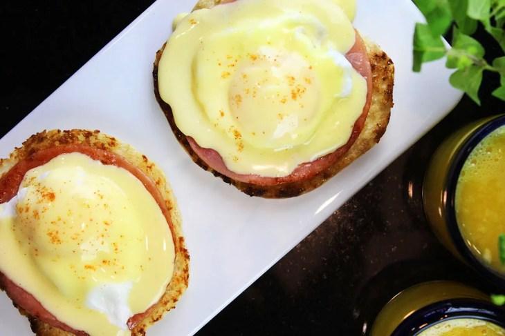 Huevos benedictinos receta