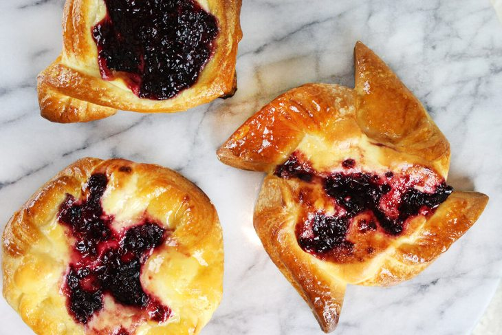 Danish pastry from scratch