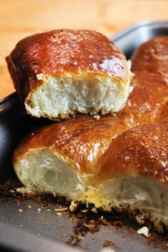 Sponge like hawaiian bread