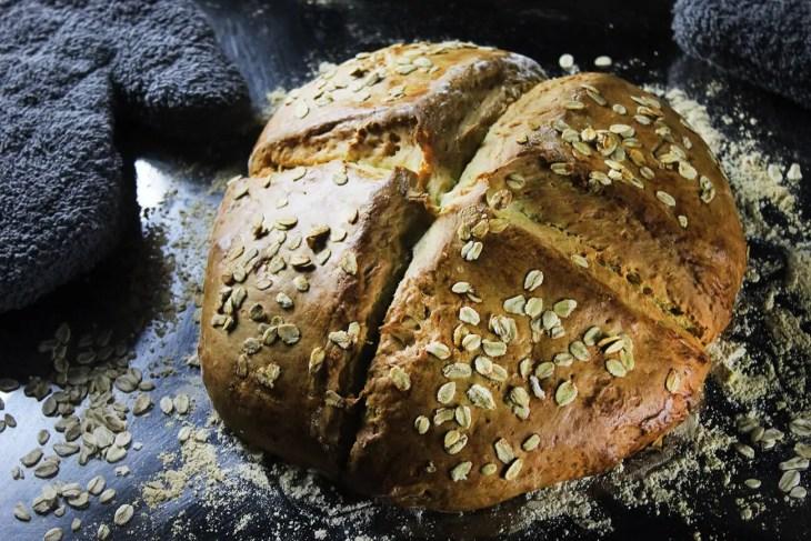 Pan irlandés de bicarbonato de sodio