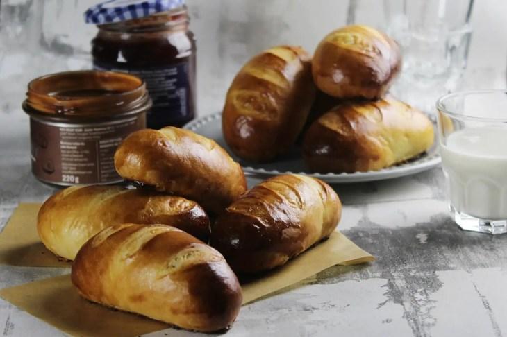 Mini milk bread recipe