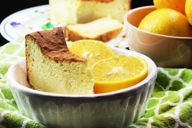 Bizcocho de naranja en casa receta