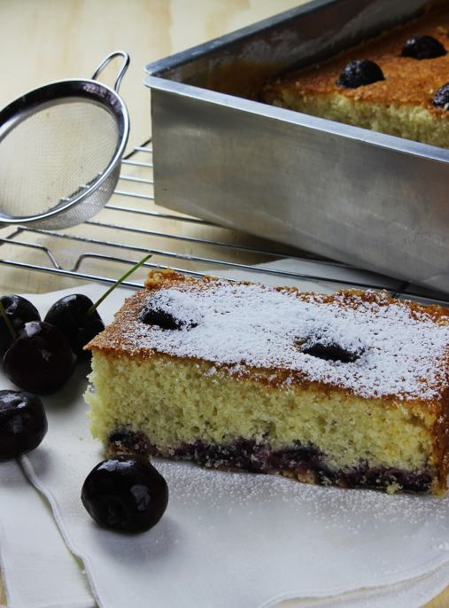 How to make an easy cherry cake