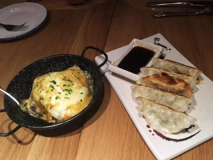 La musa de malasaña, carrilleras con setas y empanadillas japonesas